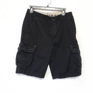 UNIONBAY shorts black cargo mens Size 29